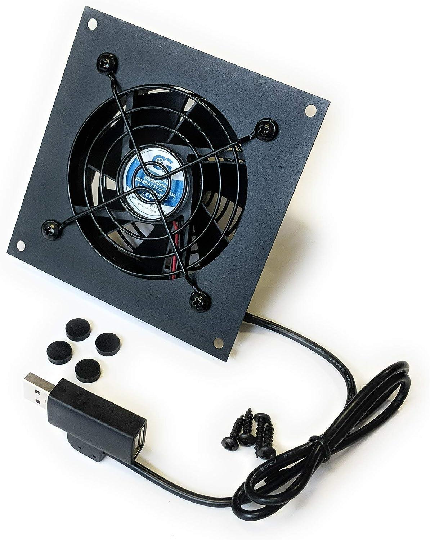 Coolerguys USB Powered Cooling Fan Kits (Single 80mm)