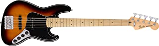 Fender Deluxe Active Jazz Bass V - Maple Fingerboard - 3-Color Sunburst