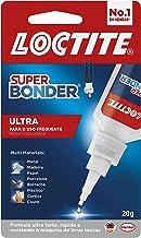 Cola Loctite Super Bonder Ultra, Cola instantânea para reparos de alta qualidade, Cola transparente para materiais diverso...