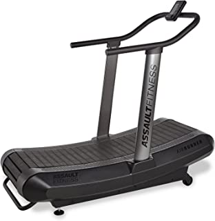 "Assault Fitness AirRunner, Black Frame/Charcoal,2"" x 16.4`"