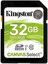 Kingston SDS/32GB Tarjeta de Memoria Sd 12, 32 gb, Negro