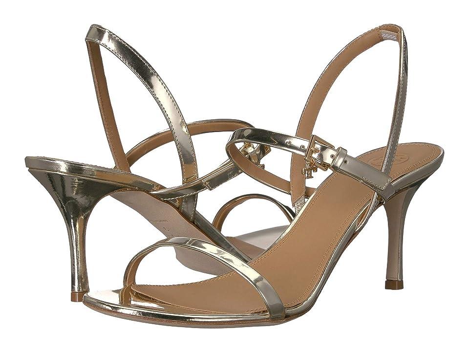 Tory Burch 65 mm Penelope Slingback Sandal (Spark Gold) Women