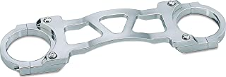 Kuryakyn 8620 Motorcycle Accent Accessory: Wide Glide Front End Fork Brace for 1991-2010 Harley-Davidson Motorcycles, Chrome