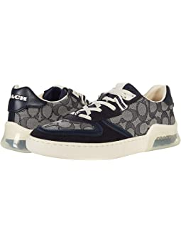 COACH CitySole Court Sneaker,Navy PVC