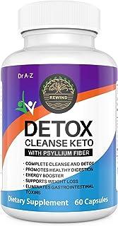 Keto Detox Cleanse, Ultra Fast Keto Boost- Pro Advanced Weight Loss- Ketogenic Diet Support - Keto Colon Cleanser, Promotes Detox for Keto Advanced Ultra Keto Boost Energy, Keto Max Pills Plus Fiber