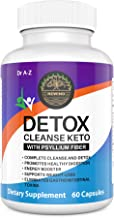 Keto Detox Cleanse Ultra Fast Keto Boost- Pro Advanced Weight Loss- Ketogenic Diet Support – Keto Colon Cleanser Promotes Detox for Keto Advanced Ultra Keto Boost Energy Keto Max Pills Plus Fiber
