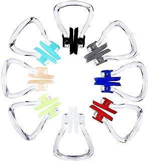 Hicarer 8 Piezas Pinza de Nariz de Natación Tapón Protector de Entrenamiento de Natación (Colores Variados)