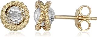Kooljewelry 14k white-and-yellow-gold NA NA