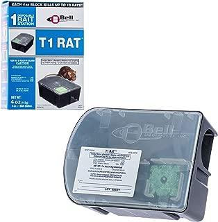 Bell T-1 Rat Bait Station 4oz- Pre-Baited