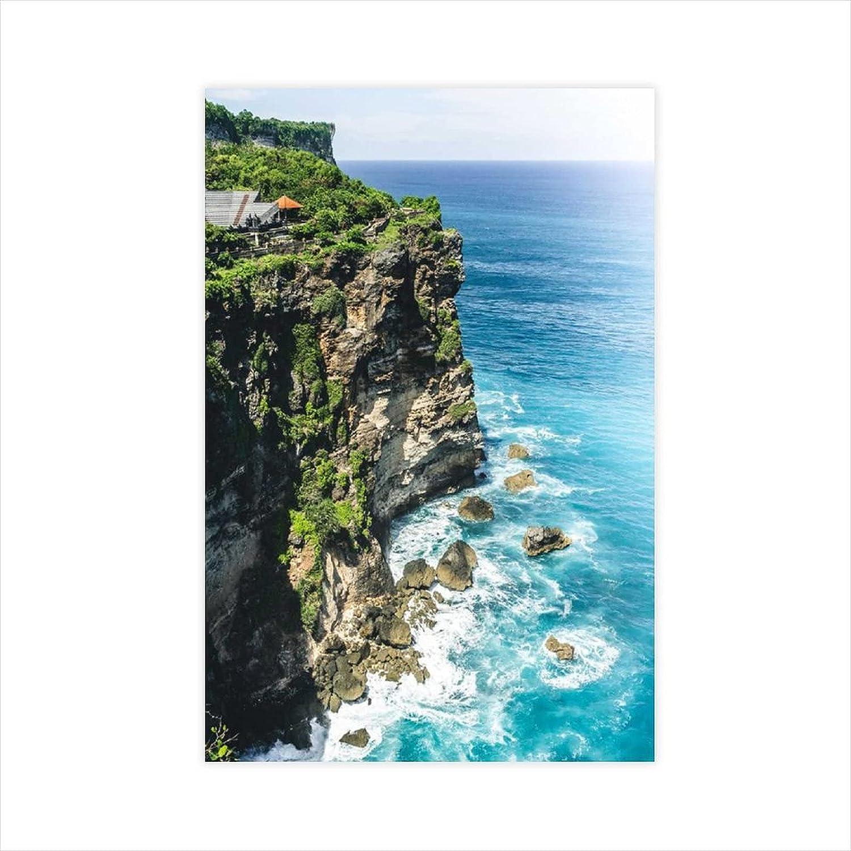 chenhe Natural Ranking Fashionable TOP8 Scenery Poster Coast Canvas Decor Wall Art