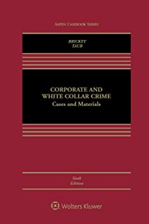 corporate and white collar crime cases and materials
