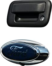 Brandmotion 1008-6509 Ford Oval Emblem OEM Camera with Chassis Harness for Ford Trucks & Flex
