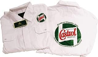 Castrol STR720-46 - Mono de mecánico, 116,8cm, Color Blanco