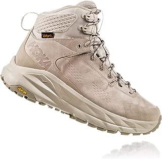 HOKA ONE ONE Men's Kaha Waterproof Hiking Boot Dune/Oxford Tan Mens 12