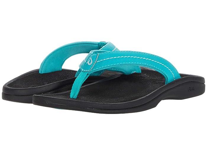 Ohana W  Shoes (Turquoise/Black) Women's Sandals