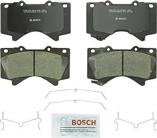 Bosch BC1303 QuietCast Premium Ceramic Disc Brake Pad Set For Lexus: 2008-2017 LX570; Toyota: 2008-2017 Land Cruiser, 2008-2017 Sequoia, 2007-2017 Tundra; Front
