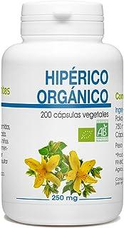 Hierba de San Juan - Hipérico Orgánico - 250mg - 200 cápsulas vegetales