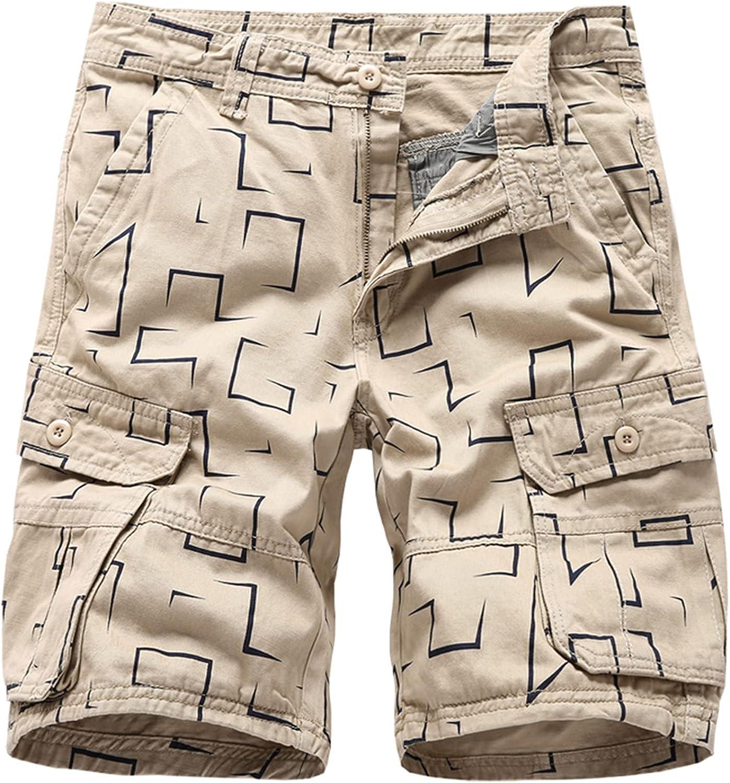 Zutty Men Shorts Cargo Work Bermudas Summer Short Pants Pattern Print Cotton Fashion Outwear Bottoms