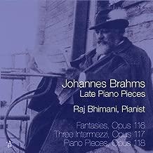 Johannes Brahms: Late Piano Pieces