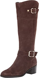 Bandolino Footwear Women's PRIES Knee High Boot, Dark Chocolate, 5 M US
