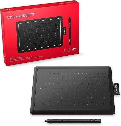 Wacom One CTL472 - Mesa Digitalizadora, Preto / Vermelho