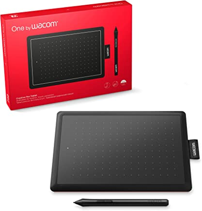 Wacom One by Small - Tableta gráfica (Alámbrico, 2540 lpi, 152 x 95 mm, USB, Pluma, 133 Puntos por Segundo)