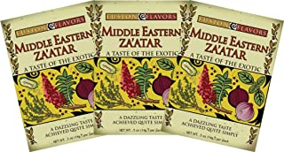 Fusion Flavors Olive Oil Dipping Spices (Middle Eastern Za'atar 3 pack)