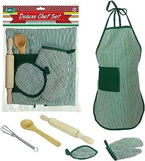 Coxeer 6PCS Cooking Toy Set Creative DIY Baking Kit Kitchen Playing Set for Children