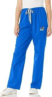 WonderWink unisex-adult University of Kansas Drawstring Cargo Pant Medical Scrubs Pants