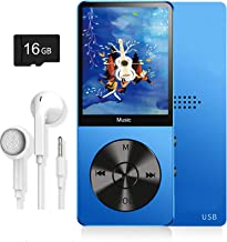 MP3 Player, Music Player with 16GB Micro SD Card, Build-in Speaker/Photo/Video Play/FM Radio/Voice Recorder/E-Book Reader,... photo