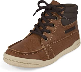 The Children's Place Kids' High Top Lace-up Sneaker
