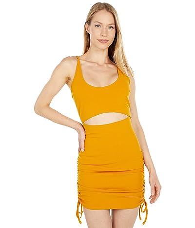 BCBGeneration Knit Cutout Drawsting Mini Dress T1TX3D31