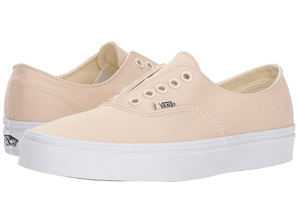 Vans Authentic Gore ((Brushed Twill) Tapioca/True White) Skate Shoes