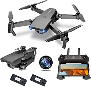 NEHEME NH525 Foldable Drones with 720P HD Camera for Adults, RC Quadcopter WiFi FPV Live Video,...