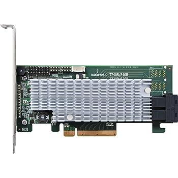 High Point Rocket 2722 External 8-Port PCI-Express 2.0 x8 SAS//SATA 6Gb//s Non-RAID Controller