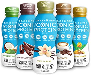 iconic vanilla protein drink