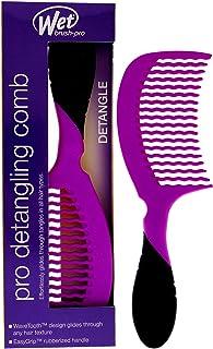 Wet Brush comb pro detangler، بنفش