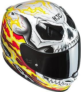 XS Schwarz//Weiss//Rot Motorradhelm HJC FG-ST LABI MC1