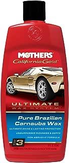 Mothers 05750-6 California Gold Pure Brazilian Carnauba Liquid Wax (Ultimate Wax System, Step 3) - 16 oz, (Pack of 6)