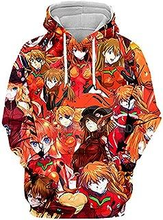 Ahegao Kawaii Asuka Langley Soryu Comic 3D Hoodies/Shirt/Sweatshirt