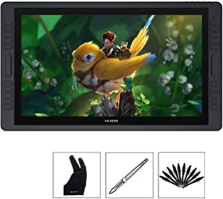 Huion KAMVAS GT-221 Pro 21.5 inch HD Drawing Tablets Screen Graphics Pen Display Monitor with 8192 Pen Pressure and 10 Shortcut Keys, 2 Touch Bar