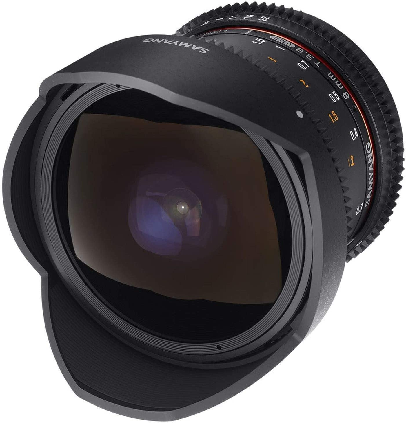 Samyang 8 3 8 Objektiv Fisheye Ii Video Dslr Canon Ef Kamera