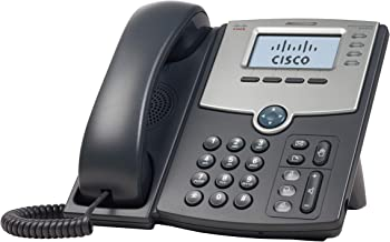 $72 » Cisco Remanufactured SPA504G 4-Line IP Phone, Cisco Small Business Product 1-Year Limited Hardware Warranty (SPA504G-RF)