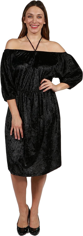 24 7 Comfort Apparel Halter Strap Via Veneto Plus Size Dress