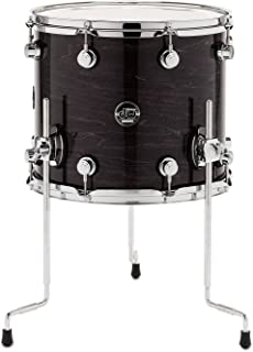DW Performance Series Floor Tom - 16 Inches X 18 Inches Ebony Stain Lacquer