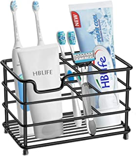 HBlife Electric Toothbrush Holder, Large Stainless Steel Toothpaste Holder Bathroom..