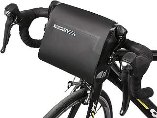 Roswheel Waterproof Bike Handlebar Bag Bicycle Basket Front Storage Bag, Mountain Road MTB Bike Front Frame Bag with Shoulder Strap