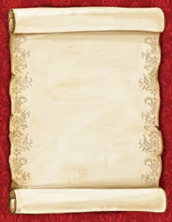 Great Papers! Christmas Scroll Letterhead, 80 count, 11