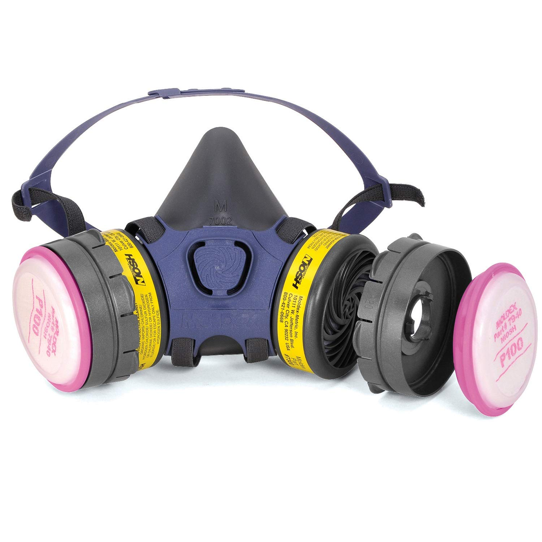 Moldex 7001 Small Size Mesa Mall security Reusable Half with 1 Pair Respirator Mask