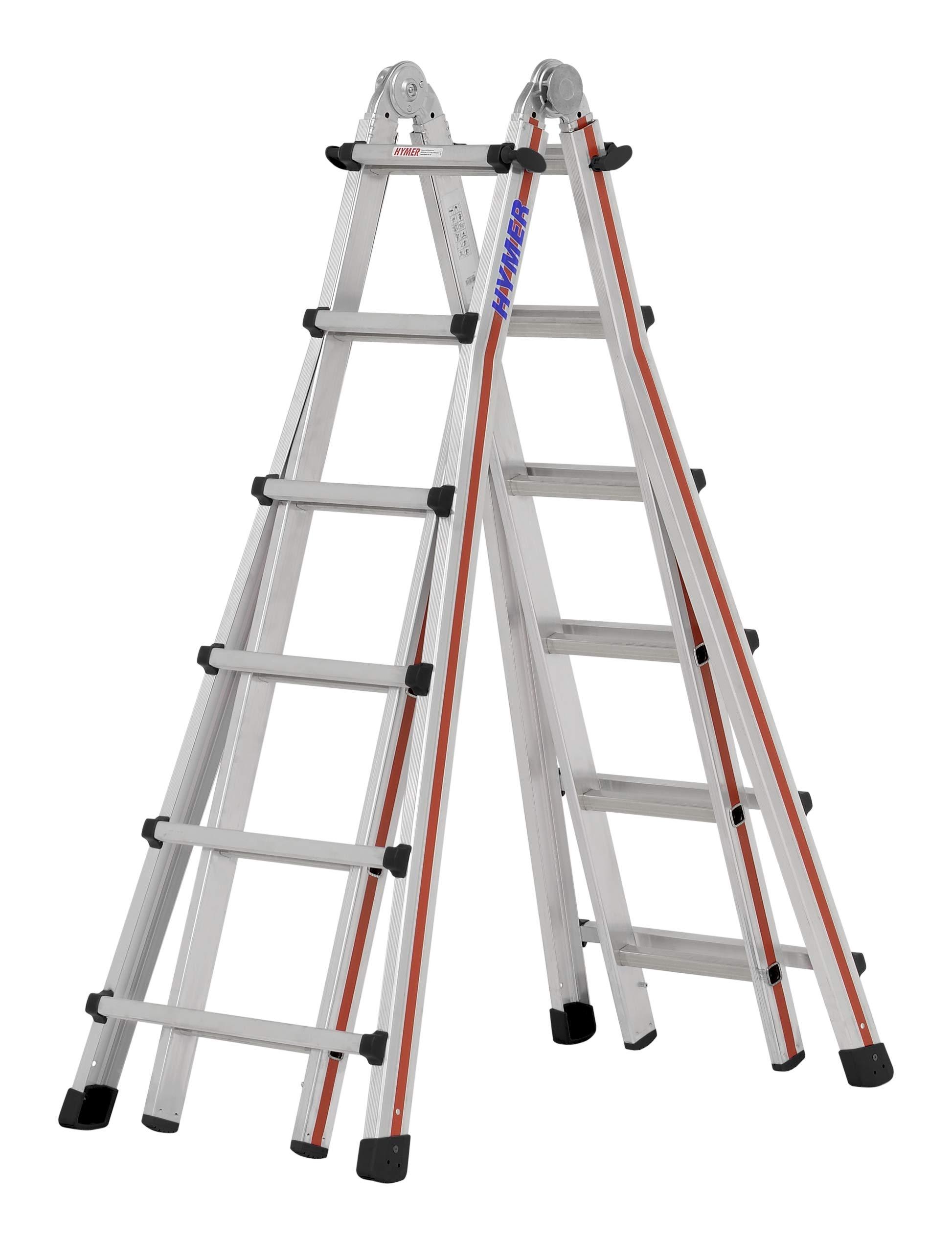 HYMER 404224 - Escalera telescópica: Amazon.es: Bricolaje y herramientas